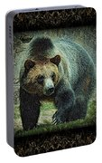 Sq Grizz 6k X 6k Grn Gold Wd2 Portable Battery Charger