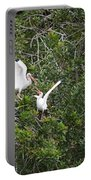 Squabbling Birds Portable Battery Charger