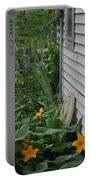 Squash Blossoms Portable Battery Charger