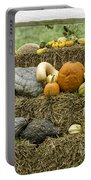 Squash Gourds And Pumpkins Portable Battery Charger