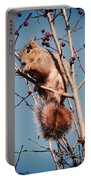 Squirrel Berry Portable Battery Charger
