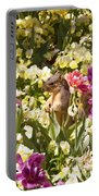 Squirrel In The Botanic Garden-dallas Arboretum V6 Portable Battery Charger