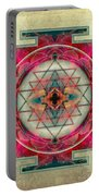 Sri Yantra  Portable Battery Charger