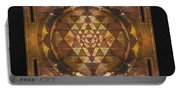 Sri Yantra Gold Portable Battery Charger