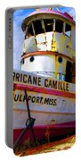 Ss Hurricane Camille Tugboat Portable Battery Charger