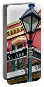 St. Ann And Chartres Nola  Portable Battery Charger