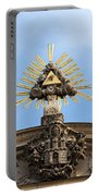 St Anne's Church In Budapest Architectural Details Portable Battery Charger
