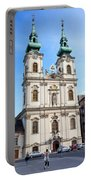 St Anne's Church In Budapest Portable Battery Charger