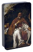 St Anthony Abbot Portable Battery Charger
