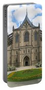 St Barbaras Cathedral Kutna Hora Czech Republic Portable Battery Charger