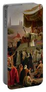 St Bernard Preaching The Second Crusade In Vezelay Portable Battery Charger