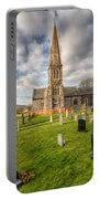 St Beuno Church Portable Battery Charger by Adrian Evans