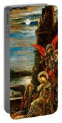 St Cecilia The Angels Announcing Her Coming Martyrdom Portable Battery Charger