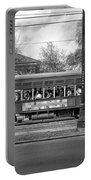 St. Charles Ave. Streetcar Monochrome Portable Battery Charger