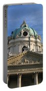 St Charles Church Vienna Austria Portable Battery Charger