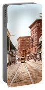 St Charles Street New Orleans 1900 Portable Battery Charger by Unknown