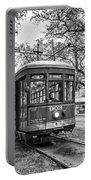 St. Charles Streetcar 2 Bw Portable Battery Charger