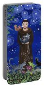St. Francis And Spike Portable Battery Charger