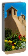 St Francis D'asis Mission Church. Taos New Mexico Portable Battery Charger