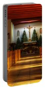 St Francis De Paula Mission Tularosa Portable Battery Charger by Bob Christopher