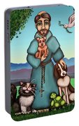 St. Francis Libertys Blessing Portable Battery Charger