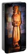 St. Francis Of Assisi By George Wood Portable Battery Charger