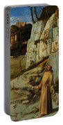 St Francis Of Assisi In The Desert Portable Battery Charger