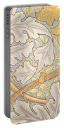 St James Wallpaper Design Portable Battery Charger by William Morris