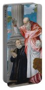 St. Jerome And A Donor Portable Battery Charger
