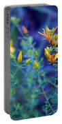 St John's Wort In The Forest Portable Battery Charger