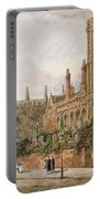St. Johns College, Cambridge, 1843 Portable Battery Charger