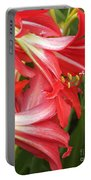 St. Joseph Lilies Portable Battery Charger