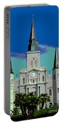 St Louis Cathedral 3 Portable Battery Charger