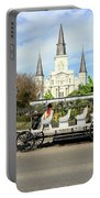 St Louis Cathedral New Orleans Portable Battery Charger