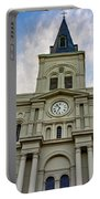 St Louis Cathedral Twilight Portable Battery Charger