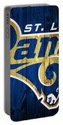 St. Louis Rams Barn Door Portable Battery Charger