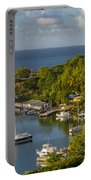 St Lucia Harbor Portable Battery Charger
