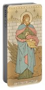St Luke The Evangelist Portable Battery Charger by English School