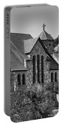 St Malo Chapel On The Rock Colorado Bw Portable Battery Charger