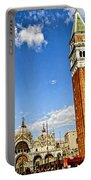 St Marks Square - Venice Italy Portable Battery Charger