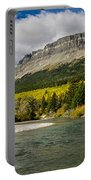 St. Mary River And East Flattop Mountain Portable Battery Charger
