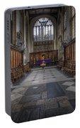 St Mary The Virgin Church - Choir And Altar Portable Battery Charger