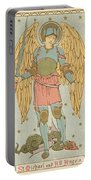 St Michael And All Angels By English School Portable Battery Charger