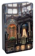 St Nicholas Church Interior In Amsterdam Portable Battery Charger