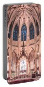 St Patricks Cathedral New York Usa Portable Battery Charger