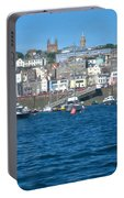St Peters Port Guernsey  Portable Battery Charger