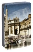 St Peters Square - Vatican Portable Battery Charger