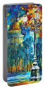 St. Petersburg New Portable Battery Charger by Leonid Afremov