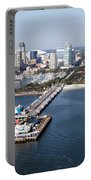 St Petersburg Skyline And Pier Portable Battery Charger