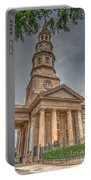 St. Philip's Episcopal Church In Charleston Portable Battery Charger